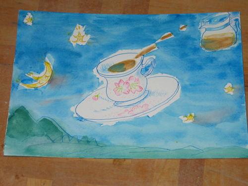 空飛ぶコーヒー